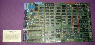 Apple III Version 2 Motherboard